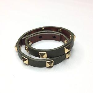 Stella & Dot studded wrap bracelet